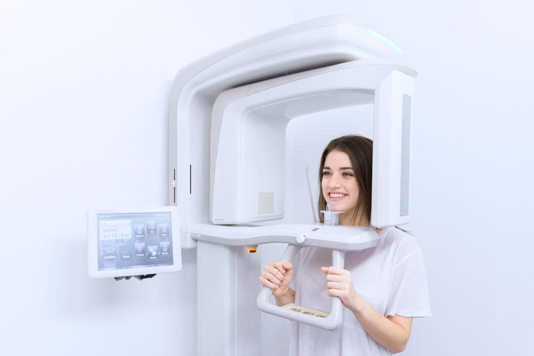 Dental 3D CT scan, Central London